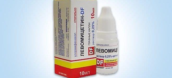 Левомицетин при конъюнктивите у взрослых: особенности препарата