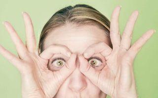 Простые упражнения и массаж для глаз при катаракте