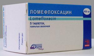 Ломефлоксацин при конъюнктивите