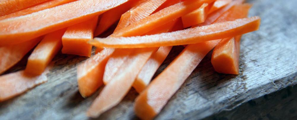фото порезанной моркови