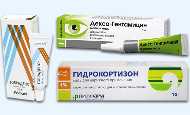 мази от аллергического конъюнктивита