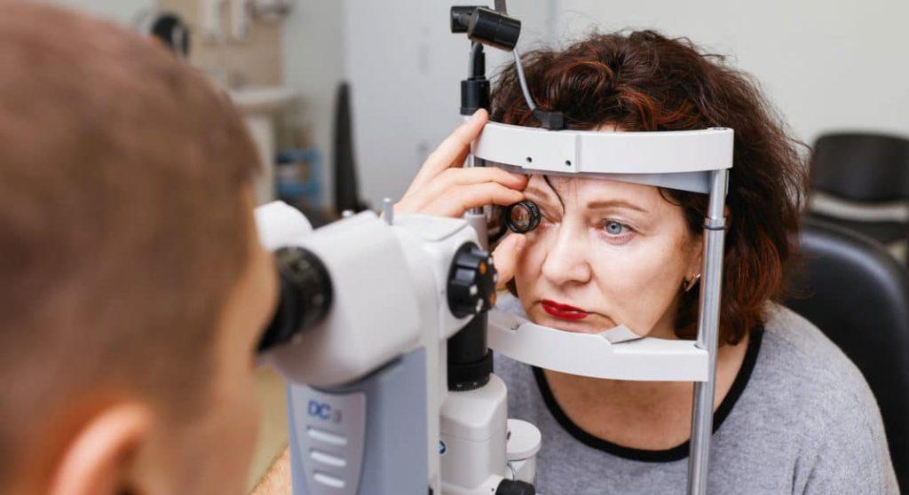 фото офтальмоскопии
