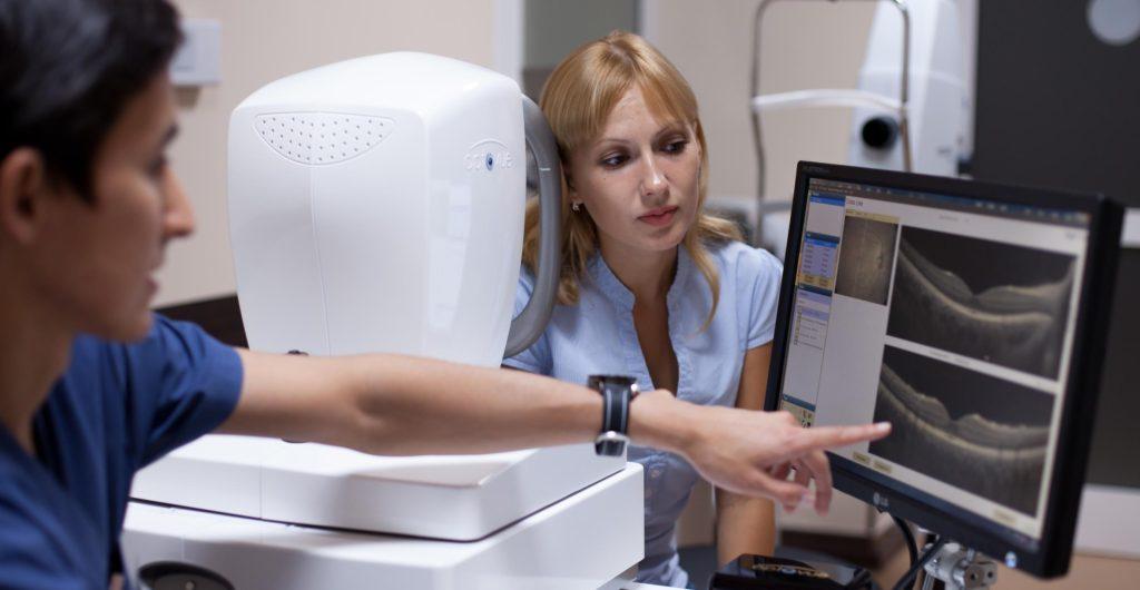 диагностика глаз при фиброзе